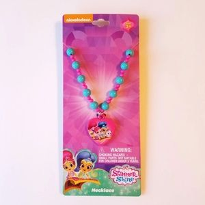 SHIMMER AND SHINE HEART PENDANT NECKLACE